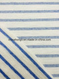 L'alta qualità Terry francese CVC 95/5 di cotone Filato-Tinge il tessuto di lavoro a maglia della banda