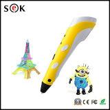 2016 crayon lecteur stéréoscopique de l'impression du crayon lecteur 3D neuf de Sek 3D pour des arts de garçons