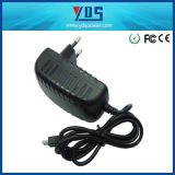 12V de 2AEU Wall Plug Adapter