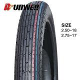 Neumáticos delanteros de la motocicleta 2.25-17 2.50-17 2.75X17 2.75-18 3.00-18