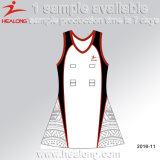 Healong libre muestra de color Sublimated Netball faldas