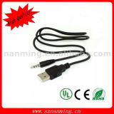 Sinc. Charger Adapter Cable del USB para el iPod Shuffle 4to