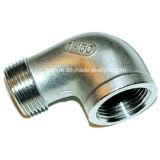 Cotovelo do encaixe de tubulação M/F do aço inoxidável