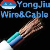 O fio elétrico Sheathed a conduta macia Sheathed PVC flexível do fio do fio