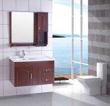 虚栄心かOak Bathroom Cabinet (w-286)