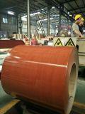 Катушки деревянного цвета стальные Prepainted гальванизированные PPGI конструкции