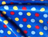 Tissu de flanelle de qualité pour la couverture, le vêtement de bébé et le peignoir (SR-F170305-5)