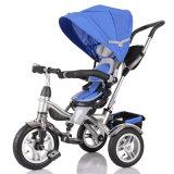 Blaues Kind-Dreirad vom China-Fabrik-Lieferanten (OKM-1383)