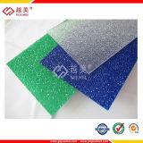 Цветастый тисненый лист поликарбоната с UV предохранением