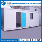 Casa prefabricada del plegamiento conveniente/prefabricada móvil