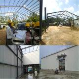 Construction en acier préfabriquée pour l'atelier d'entrepôt