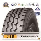 Neumático 10.00r20 295/80r22.5 del carro del Bis de Yellow Sea Kunyuan Annaite