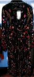 способ 2017hot цветет ткань вышивки бабочки для ткани женщины