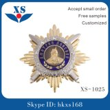 O emblema militar/polícia do metal 3D feito sob encomenda barato Badge