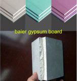 Bons prix de panneau de gypse de plaque de plâtre de taille normale d'utilisation de partition de 7.5-15mm