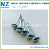 "9g2.5 "" Umbrella Head Smooth Twisted Shank Roofing Nails"