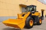 Chargeur 1.7m3 de Luqing chargeur de roue de 3 tonnes avec du ce Zl30g