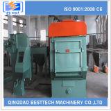 Máquina de goma de la limpieza del chorreo con granalla de la correa eslabonada de la venta caliente de Qingdao