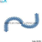 Separadores ortodônticos dos elásticos do instrumento dental (DI-p01)