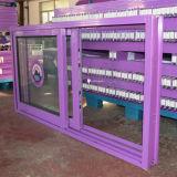 Cerradura cubierta polvo de la manija con la ventana de desplazamiento de aluminio dominante