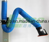 外部にCapture DamperのArticulated Flexible Fume Extraction System Arms