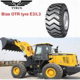 17.5-25 Escavador, carregador, pneumáticos do raspador, pneu diagonal de OTR