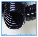 PVC Steel Reinforcement Hose in Balck Color
