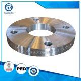 高精度を機械で造るCNCは鋼鉄AISI4130はさみ金のフランジを造った