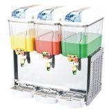 Distribuidor de mistura da bebida refrigerando de pulverização do anúncio publicitário