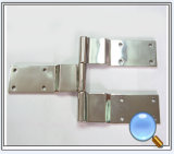 Bisagra inoxidable de la pieza de acero fundido, bisagras de puerta