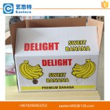 تخصيص كرافت كرتون الموز تغليف علبة كرتون