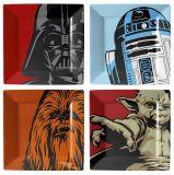 Klassieke Karakters van het Vaatwerk van de Melamine van de Plaat van Star Wars de Vastgestelde