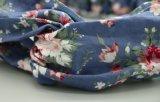Accessori puri elastici dei capelli della fascia annodati Headwrap della fascia del fiore del cotone di Hairband della traversa ambientale attiva di stampa delle donne