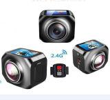 Камера видеокамера 360 памяти системы 1 GB миниая он-лайн
