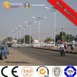 Galvanizados doble del brazo popular calle de iluminación Pole tráfico postes ligeros