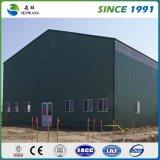 Almacén prefabricado de la estructura de acero del bajo costo (CE)