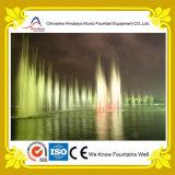 Fontana di acqua magnifica di musica del fiume con controllo di DMX