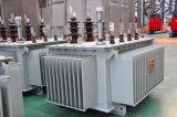 transformador de potência imergido petróleo da distribuição da Cheio-Selagem 10kv para a fonte de alimentação
