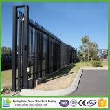 Paneles de valla de seguridad de la lanza superior de acero