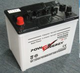N50 12V50ah Dry Charged Lead Acid Storage Car Battery