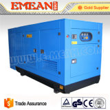 gerador Diesel silencioso do motor da potência refrigerar de água 30kw/37.5kVA
