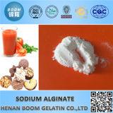 Poudre d'alginate de sodium de qualité cosmétique utilisée comme masque