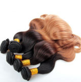 100%年のボディ波の毛のWeftバージンの人間の毛髪
