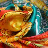 Saia Silk Scarf per Women