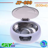 Jewelry Denture 600ml (JP-890)를 위한 Digital Wholesale Ultrasonic Cleaner 비행사