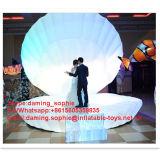 Reuze Opblaasbare Shell van het Huwelijk Tent met LEIDENE Lichten