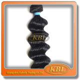 Волосы цвета черноты двигателя Remy девственницы бразильские