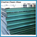 Vlak Aangemaakt Gelamineerd Glas voor de Bouw/Ingediend/Fuiniture