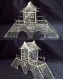 アクリルの合板木MDFレーザーの彫版機械