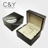 Populärer schwarzer Klavier-Lackhölzerne Mens sondern Uhr-verpackenkasten aus